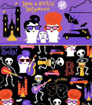 Have a Rockin' Halloween Printable
