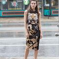 Make A Reversable Sequin Pencil Skirt
