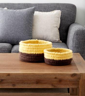 Bernat Crochet Nesting Baskets