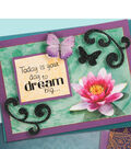 Inspirational Water Lily Card