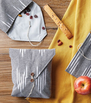 How To Make a Reusable Sandwich Bag with button closure