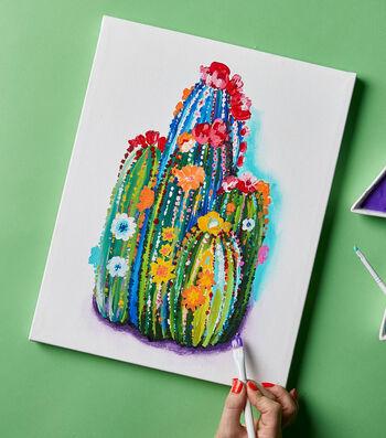 Paint a Cactus Canvas