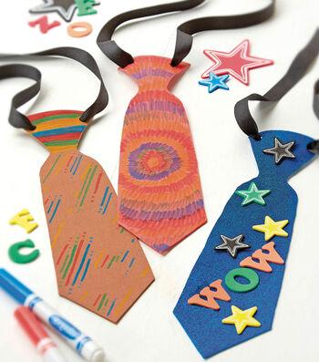 Foamie Neckties for Dad