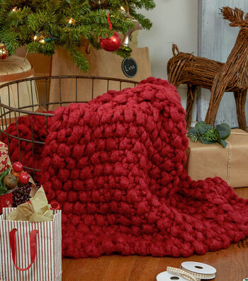 How To Make A Couture Jazz Seed Stitch Blanket