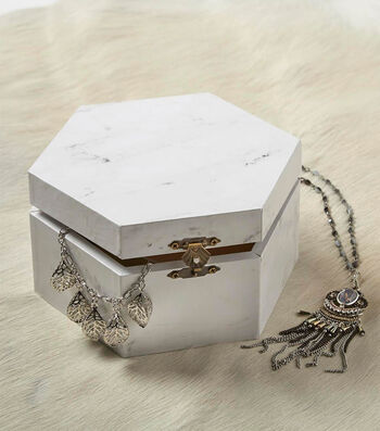 Make A Marble Jewelry Box