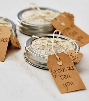 "Make ""From Us Tea You"" Wedding Favor"
