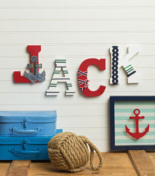 How To Make Ribbon Letters With Trim