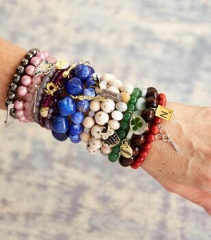 How To Make Beaded Charm Bracelets