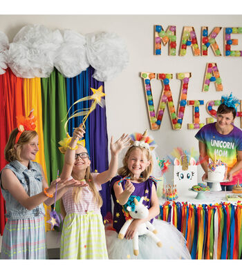 Create Unicorn Party Decorations