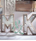 Idea Market Lit Marquee Letters