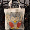 Spooky Owl Trick or Treat Bag