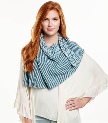 How To  Knit A Mosaic Shawl