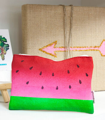 How To Make A Watermelon Clutch