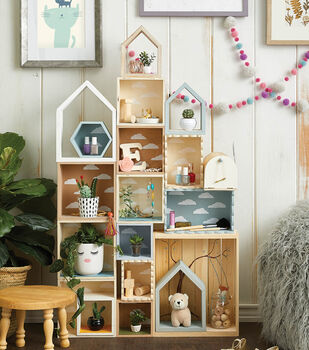 How To Make a Kids Shelving System