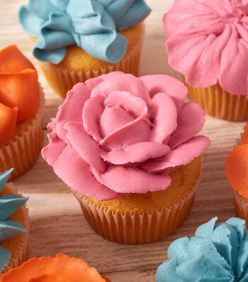 Make Garden Of Flowers Cupcakes