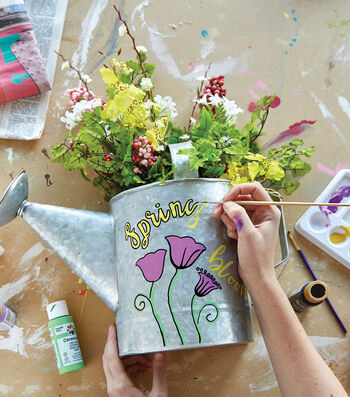 How To Make A  Galvanized Watering Can