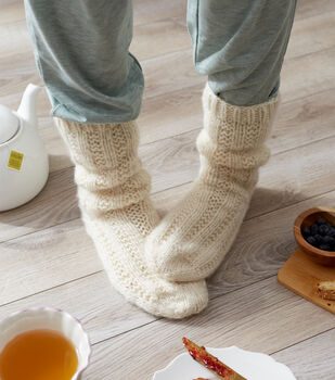 How To Make Red Heart Hygge Relaxation Socks