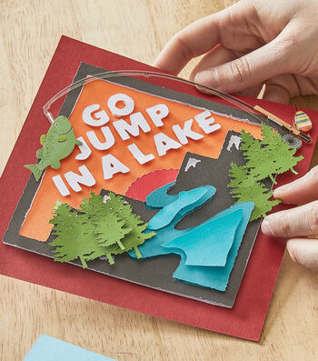 How To Make a Camp Paper Art