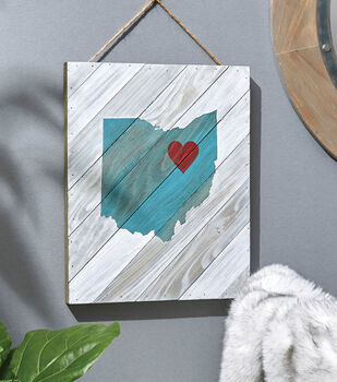 How To Make A Color Washed State Painting