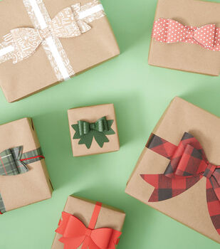 How To Make A Brown Paper Boxes With Paper Bows