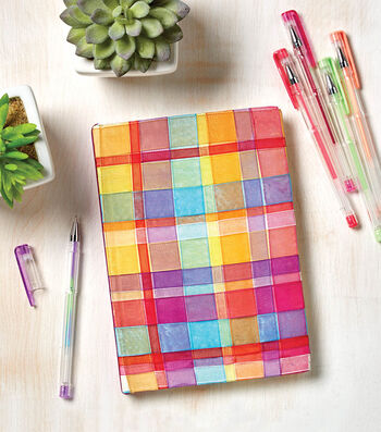 How To Make A Woven Ribbon Journal