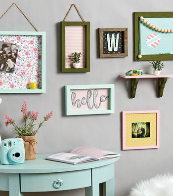 How To Make a Wall Art Display