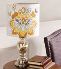 Buttercream Audrey Collection Stenciled Lamp