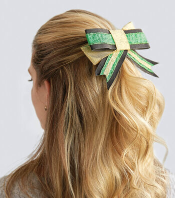 How to Make A Layered Hair Bow