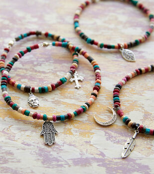 How To Make Wire Beaded Bracelets