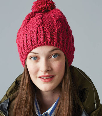 Textured Twists Hat