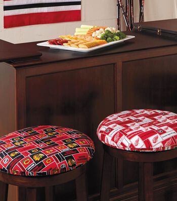 Man Cave Stool Cushions
