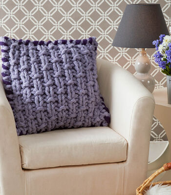 How To Make A Basketweave Pillow
