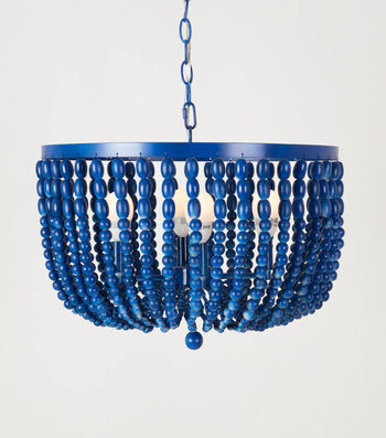 How To Make A COLORSHOT Blue Chandelier
