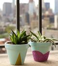 Buttercream Olivia Collection Succulent Pots