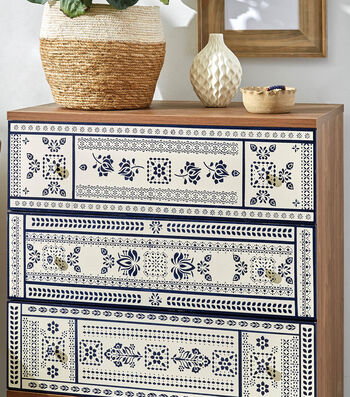 How To Make A Stenciled Dresser