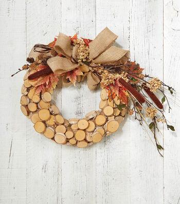 Makers Guide: Birch Wreath
