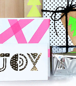 How To Make An Oh Joy Gift Tag Set