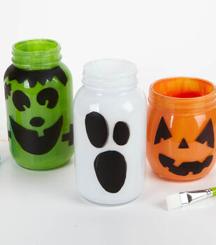 How To Make A Goblin & Ghost Jars
