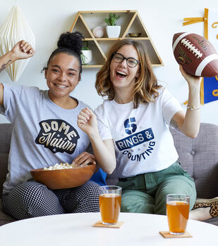 How To Make Game Day Cricut Shirts