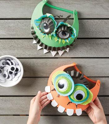 Make A Cupcake Liner Monster Visor