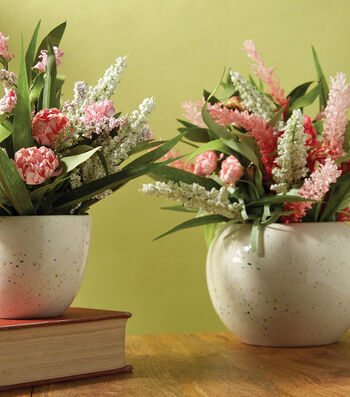 How To Make Spring Speckle Vases