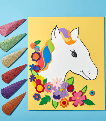 Make A Pin The Horn On The Unicorn Party Game
