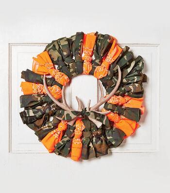 How To Make A Hunter Bandana Wreath