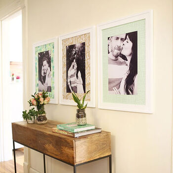 Make Your Own Patterned Photo Mats