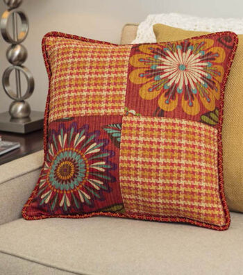 4 Piece Patchwork Pillow