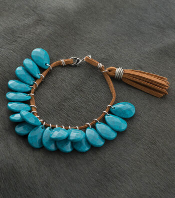 How To  Make A Turquoise Bracelet