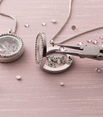 Make A Swarovski Mom Locket