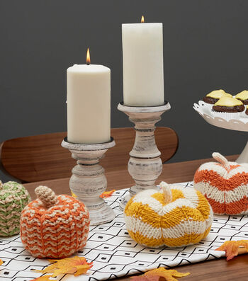 How To Make Spicy Knit Pumpkins