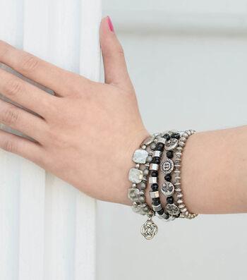 Make Beaded Charm Bracelets