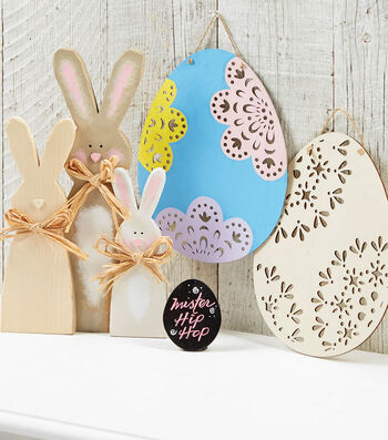 Painted Fab Lab Easter